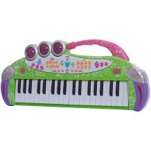 """Купить игрушка-синтезатор """"весенняя мелодия"""" , с микрофоном, со светом, губка боб ( id 4951865 )"""