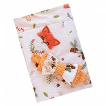 Купить lovelycare конверт-одеяло на выписку пушистики весна/осень + бант 100785
