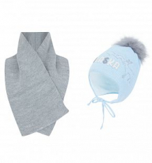 Купить комплект шапка/шарф ewa alaska, цвет: голубой ( id 9766476 )