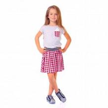 Купить платье mirdada, цвет: серый/красный ( id 11907214 )