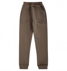 Купить брюки спортивные ovas, цвет: коричневый т3б1