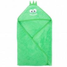 Купить полотенце с уголком leader kids 75 х 100 см, цвет: зеленый ( id 12452116 )