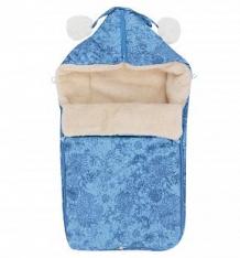 Купить leader kids конверт в коляску цветы 84 х 44 см, цвет: голубой ( id 9918972 )
