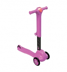 Купить самокат doloni, цвет: розовый 8675863