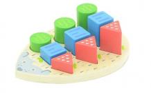 Купить сортер мир деревянных игрушек ёжик д413 д413