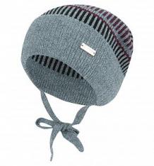 Купить шапка журавлик респект, цвет: серый/синий ( id 9842694 )