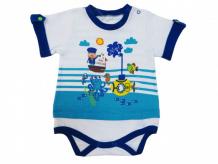 Купить soni kids боди короткий рукав подводный мир л7101013