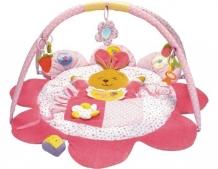 Купить развивающий коврик baby mix кролик (лепесток) 3133с