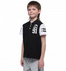 Купить футболка-поло anta сoldplay, цвет: черный ( id 10304330 )