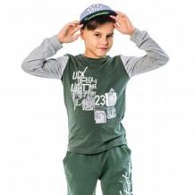 Купить джемпер batik, цвет: серый/зеленый ( id 12559198 )