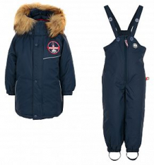 Купить комплект куртка/комбинезон лайки 1069303, цвет: синий ( id 7464991 )