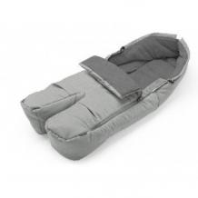 Купить муфта для ног stokke, серый меланж stokke 996857699