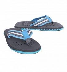 Купить шлепанцы s'cool, цвет: серый/синий ( id 2762846 )