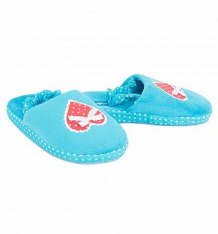 Купить тапочки forio, цвет: голубой ( id 7067929 )