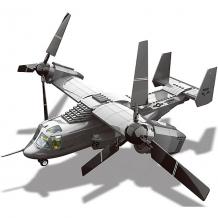 """Купить конструктор wange """"конвертоплан v-22 osprey"""", 593 детали ( id 11042761 )"""