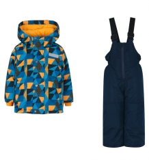 Купить комплект куртка/полукомбинезон salve by gusti, цвет: голубой/желтый ( id 9819915 )