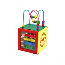 Купить деревянная игрушка рид куб развивайка в-035 3048