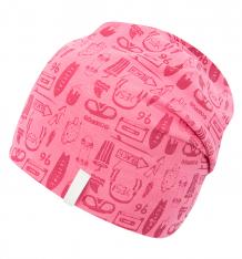 Купить шапка icepeak веселая музыка, цвет: розовый 752808514iv668
