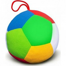 Большой мяч Мякиши с погремушкой, 20 см ( ID 1136294 )