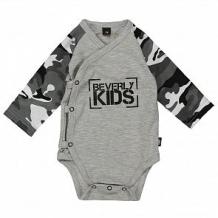 Купить боди beverly kids, цвет: серый ( id 11979688 )