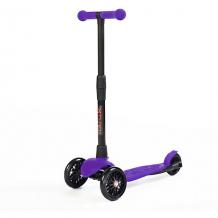 Купить трехколесный самокат buggy boom alfa model, фиолетовый ( id 11136569 )