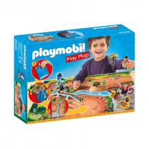 Купить конструктор playmobil игровая карта: мототрасса 9329pm