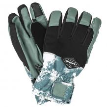 Купить перчатки сноубордические dakine charger glove splatter белый,темно-зеленый,черный ( id 1192631 )