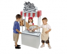 Купить cartonhouse игровой домик картонный раскраска пиццерия 11350