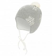 Купить шапка krochetta, цвет: серый ( id 9804747 )