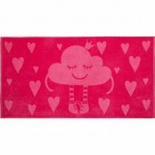 Купить полотенце крошка я облачко 70х130 см, цвет: розовый ( id 12705484 )