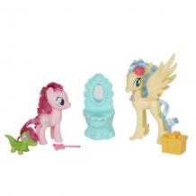 Купить hasbro my little pony b9160/e0995 игровой набор уроки дружбы пинки пай и принцесса небесная звезда
