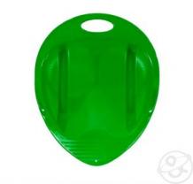 Санки-ледянки Пластик Снежный гонщик, цвет: зеленый ( ID 3565774 )