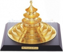 Купить конструктор tucool 3d паззл из металла храм неба as017