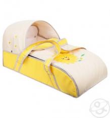 Купить люлька-переноска для ребенка slaro солнышко, цвет: желтый/светло-бежевый ( id 4526191 )