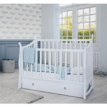 Кроватка-маятник Papaloni Maggy, 140 х 70 см, белый Papaloni 996922755