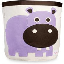 Купить корзина для хранения бегемотик (purple hippo), 3 sprouts 5098207