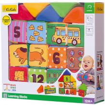 """Купить мягкие кубики k's kids """"обучайка"""" ( id 8927887 )"""