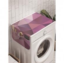 Купить ambesonne органайзер для хранения на стиральную машину геометрические холмы 120x45 см cwm_12458