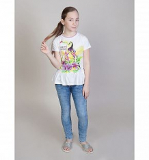Купить футболка luminoso фламинго, цвет: белый ( id 10340363 )