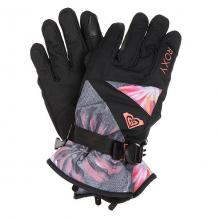 Купить перчатки сноубордические женские roxy jetty gloves hawaiian tropik para черный,мультиколор ( id 1160245 )