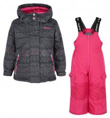 Купить комплект куртка/полукомбинезон gusti boutique, цвет: черный ( id 6495517 )