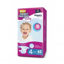 Купить helen harper подгузники baby maxi (7-14 кг) 62 шт. 2310400/2312572