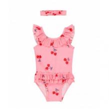 """Купить купальник """"вишенки"""" и повязка на голову в комплекте, розовый mothercare 4191894"""