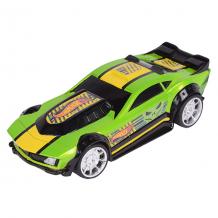 Купить hot wheels hw90563 машинка хот вилс на батарейках со светом механическая, зеленая 14 см