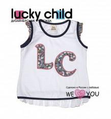 Майка Lucky Child Прованс, цвет: белый ( ID 5775925 )