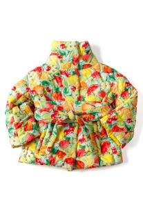 Купить полупальто i love to dream фрукты, цвет: желтый ( id 2730872 )