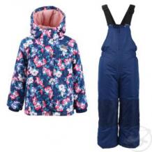 Купить комплект куртка/полукомбинезон salve, цвет: синий/малиновый ( id 10675940 )