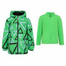 Купить ветровка stella треугольники, цвет: зеленый ( id 10814063 )