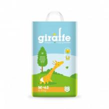 Купить подгузники lovular giraffe m, 6-11 кг, 62 шт lovular 997137110
