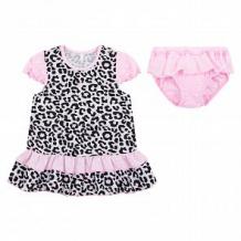 Купить комплект платье/трусы leader kids маленькая багира, цвет: серый ( id 11115326 )